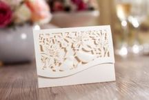 Unique Laser Cut Mini Pockets / Our new design of laser cut mini pockets, great for Mini Invitations, RSVP, Save the Date, Lottery Ticket Holders and so much more!