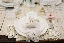 Table settings I love!