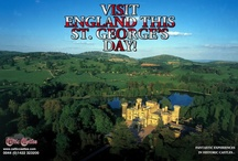 St.George's Day Castles! / St. George is the patron saint of England. Why not come to England this St. George's Day?