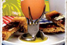 Övrigt Påskpyssel / Ägg, gaffel, papier maché