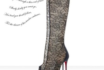 Oh the Red Bottoms / by Kimberly Whitehead