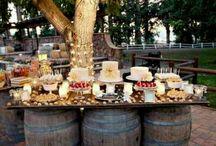 Rustic Weddings / I'm already married but I still love weddings :) / by Tyler Cotten