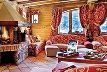 Stunning Ski Chalets / For the perfect ski holiday there is nothing quite like a beautiful, traditional alpine ski chalet surrounded by picturesque mountain views