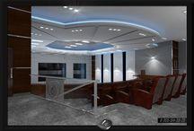Дизайн-проекты общественных зданий и сооружений.  / Разработка концепции дизайн-проекта + 3D визуализация. Эскизное предложение. Общая площадь помещений 864кв.м.