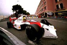 Ayrton Senna racing god