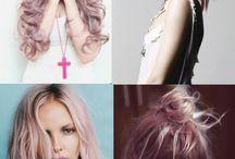 color hair....