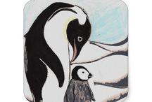Artisan Abigail Stickers / Includes my original artwork on stickers at Zazzle! © Abigail Davidson Art