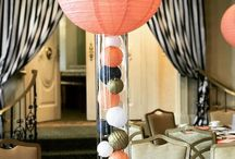 Navy and Coral B'nai Mitzvah Party