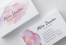 Premade Business Cards / Premade Business Cards for download and edit yourself