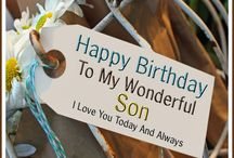 birthday messages for a son