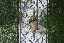 Iron gates / by Galadryl Jewelry Design
