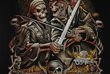 Pirates 2.0 / Undead and un-natural pirates.