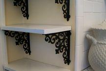 Cornar shelves