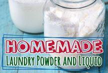 laundry powders and liquids