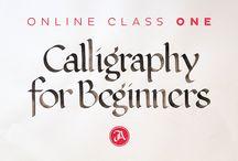 craft - calligraphy