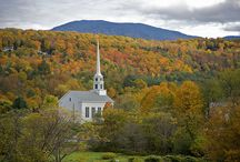 New England Churches / by George McClane