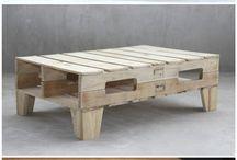 Pallet furniture and shelves