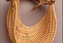 газетные трубочки -плетение