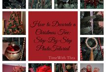 Christmas: Trees & Ornaments / by Time With Thea