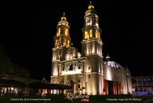 Iglesias Coloniales de Campeche / Iglesias coloniales que se encuentran dentro del recinto amurallado y del perímetro considerado Patrimonio Cultural de la Humanidad de la ciudad de San Francisco de Campeche, Campeche, México.