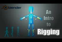 BLENDER - Rigging Character Design