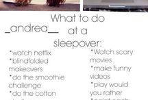 - sleepover ideas -