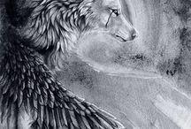 Devian Art Wolves