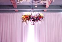 Ceiling Decor // Wedding + Events / Ambiance brought up another notch--dazzle from every angle at Your Special Event.