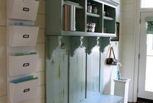 Mudroom and laundry room / by Bethlee Myers