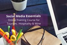 Social Media Training / Tips and idea regarding social media marketing for tourism, hospitality, food and wine business owners and marketers.