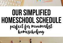 Minimalist Homeschoolers