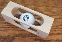 Столярные головоломки • Woodworking Brain-Teasers