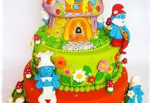 Smurfs Birthday Party