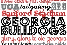 Go Dawgs! / by Rachel Johnson