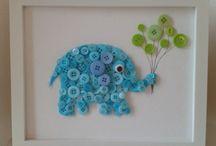 Knopen olifant