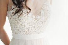 wedding dress;)