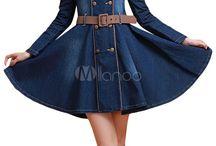 dżinsowe sukienki