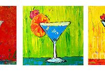 Food and Beverage Art / This board contains art pieces related to food and drinks.