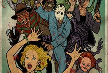 I love Horror movies / I'm a horror movie freak, the more gory, the better, and I love Zombies / by Michelle Silver