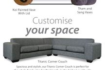 Coricraft Corner Couches - Shop The Look