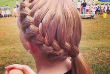 Inteligent hairstyles for school