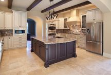 """Dream Kitchen / We have to remodel our kitchen due to water damage- here are ideas I love / by Andrea """"Andy"""" Sikkink"""