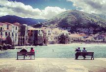 Cefalù / Cefalù la meravigliosa città siciliana situata sul mare