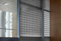 Solutions: metal mesh interiors