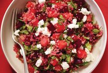 Salade et assiette froide