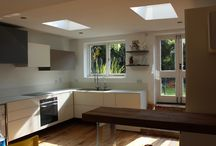 Our kitchens / We fit all kinds of kitchens Bespoke, contemporary and traditional. With our bespoke kitchens you can select from a range of Worktops made out of glass, stone or laminate, you can choose the colour of doors and panels you want.