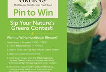 Sip Your Nature's Greens Contest