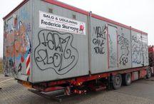 Grafitti / Kunst? meget muligt, men ikke på vores vogne og pavilloner, tak!