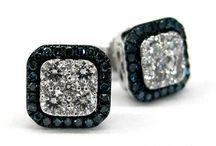 COLOR DIAMOND EARRINGS