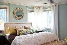 Master bedroom / by Sarah Kerr
